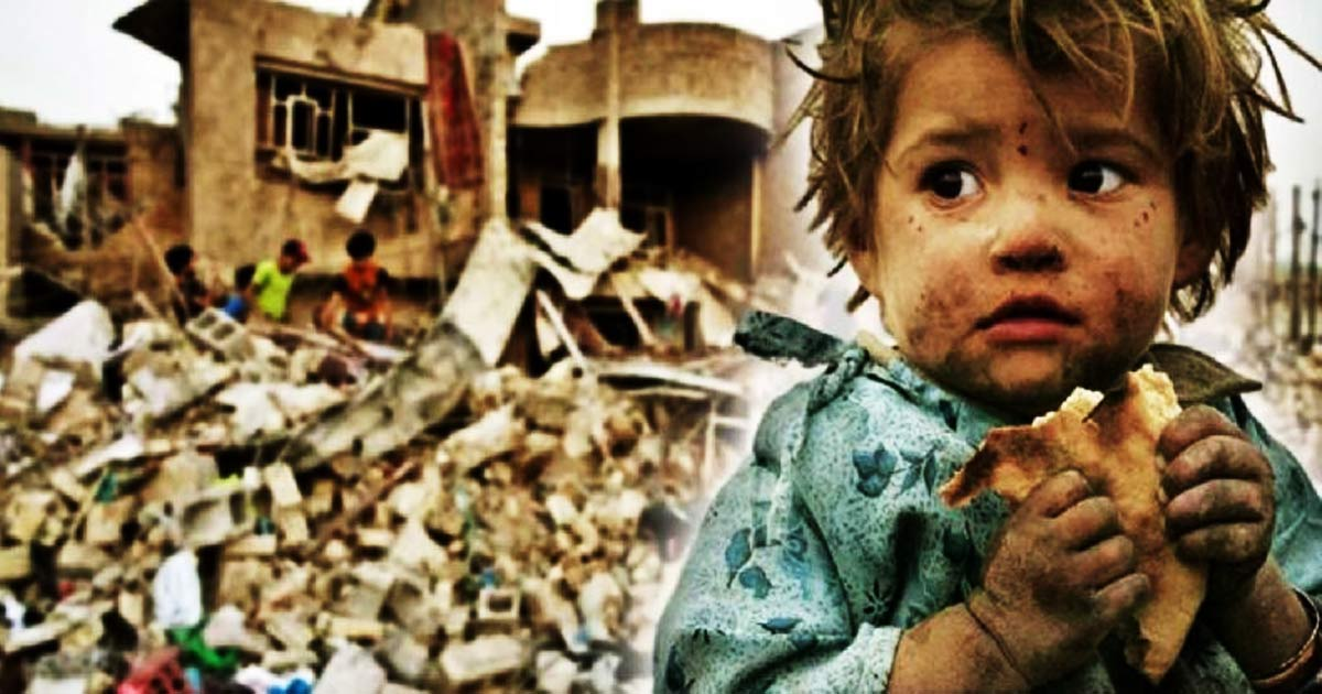 You are currently viewing 3% Of What The US Spends Destroying Countries Could End Starvation On Entire Planet