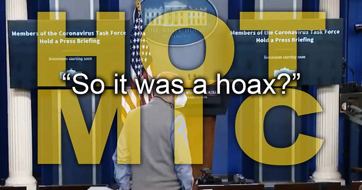 You are currently viewing Historic Moment! Fox News Admits Covid-19 Is a GIANT HOAX