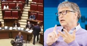 Italian Politician Demands Bill Gates Be Arrested For Crimes Against Humanity On Parliament Floor