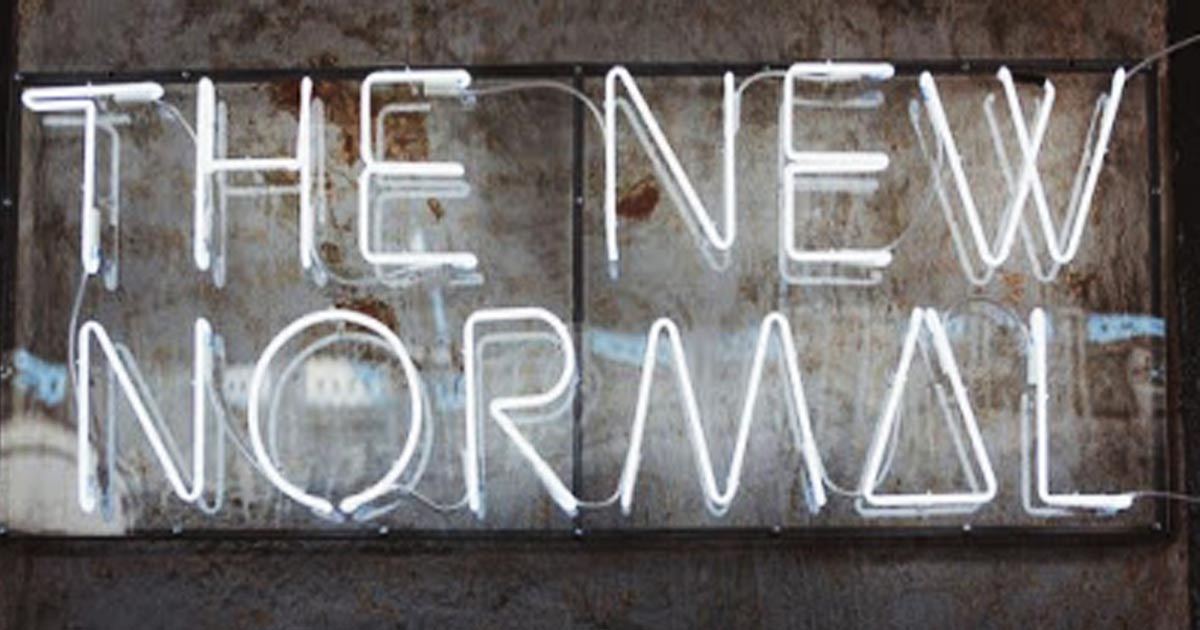 Normal is never coming back! And it is all by design