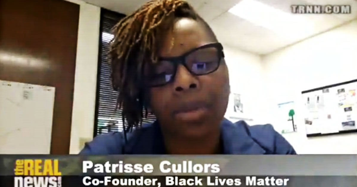You are currently viewing VIDEO: #BLM Co-Founder Says 'We are Trained Marxists'