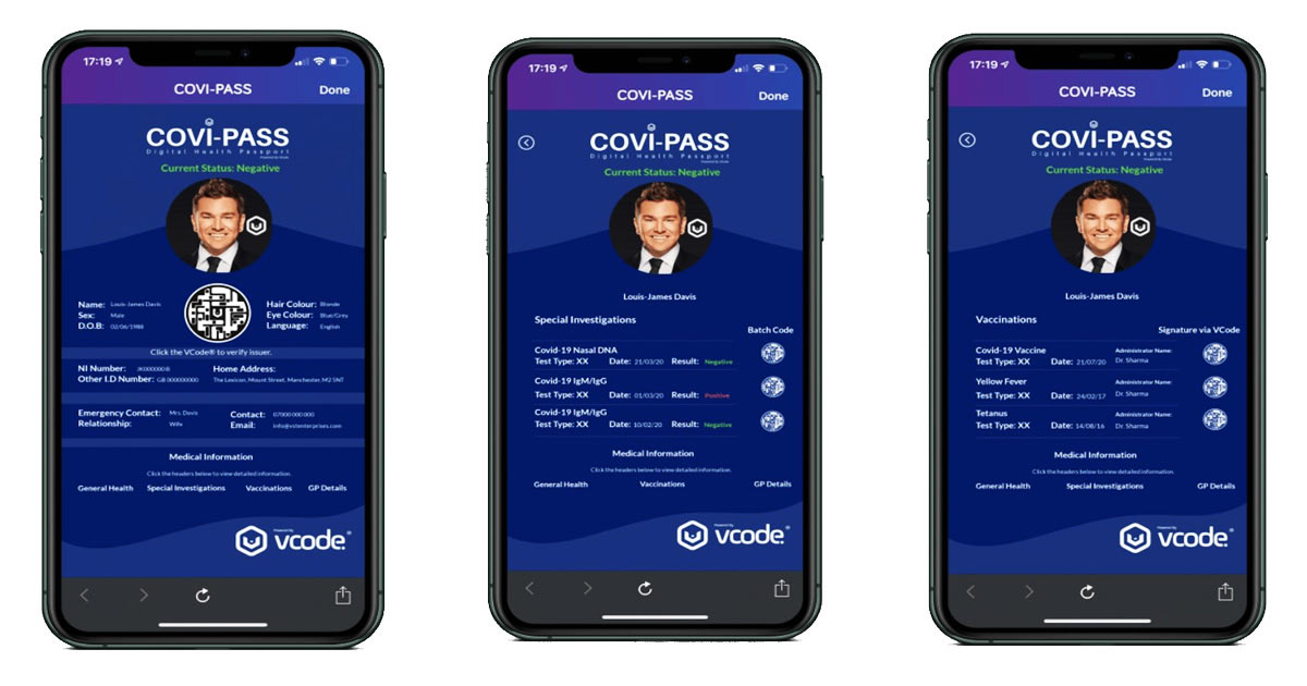 You are currently viewing Mass-Tracking COVI-PASS Immunity Passports Slated to Roll out in 15 Countries