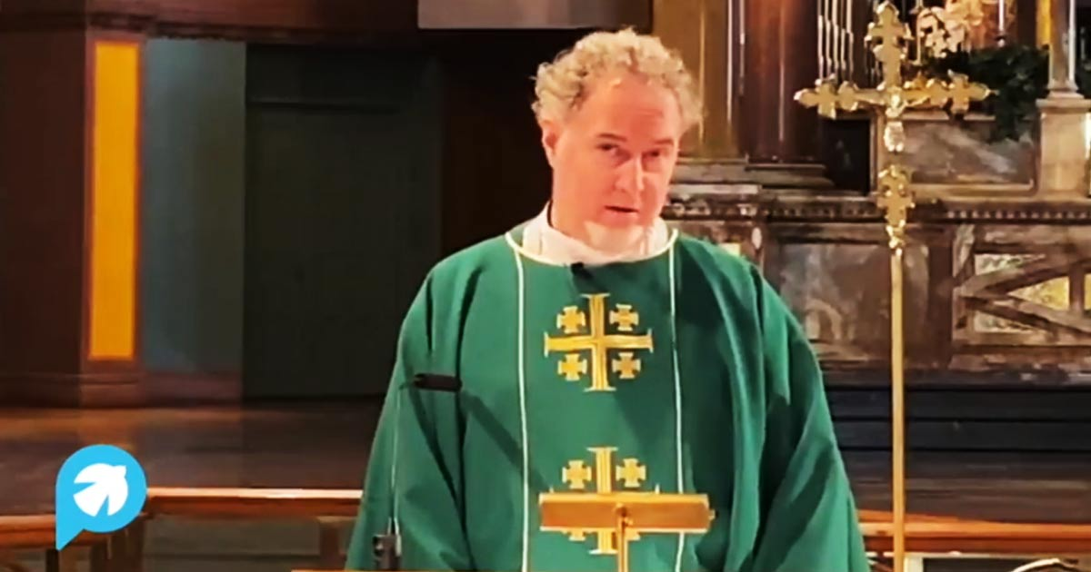 You are currently viewing Priest In NY Church: 'Christ Is Lesbian, Gay, Bisexual, Transgender, And Queer'