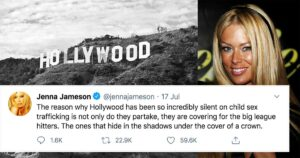 Former 'Queen of Porn' Posts series of Tweets claiming her Insights into Hollywood Pedophilia