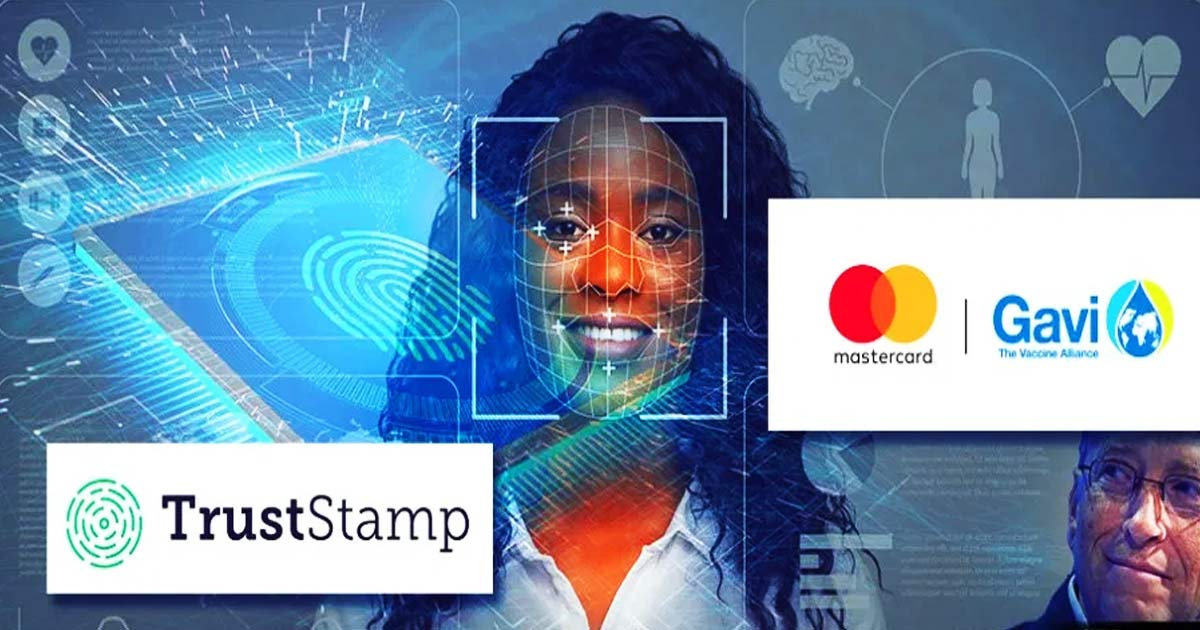 You are currently viewing Bill Gates And his Gavi Vaccine Alliance Launching AI-Powered 'TRUST STAMP' Combining a Vaccine and Digital Biometric Id in West Africa