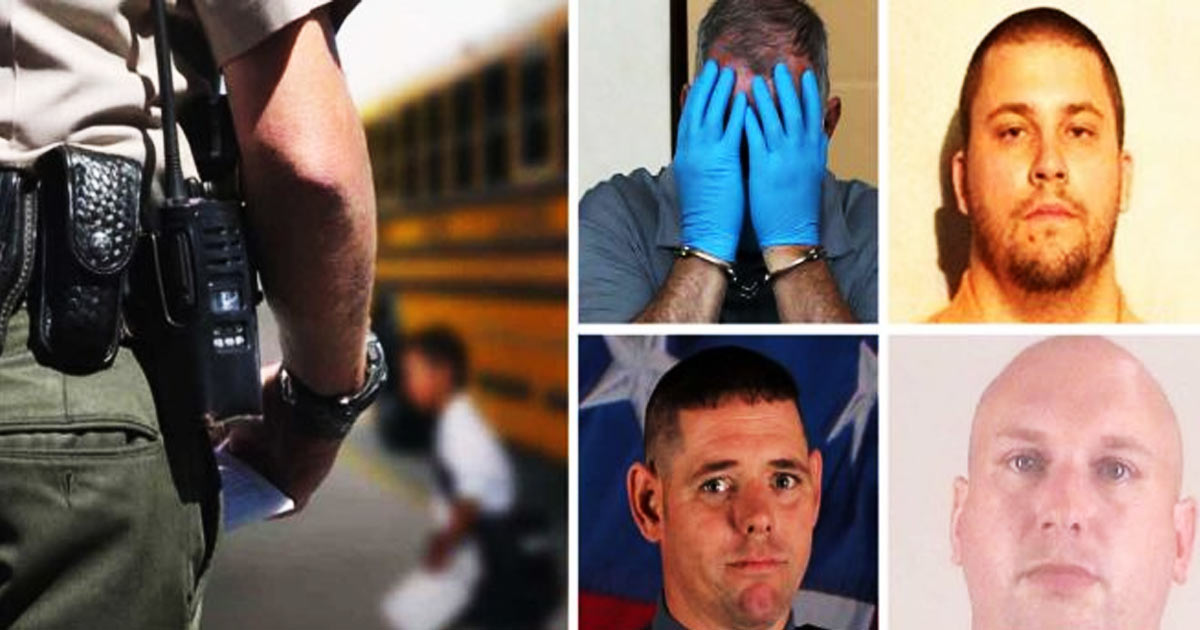 Not Just Brutality, Cops Keep Getting Arrested for Child Sex Crimes While On-Duty