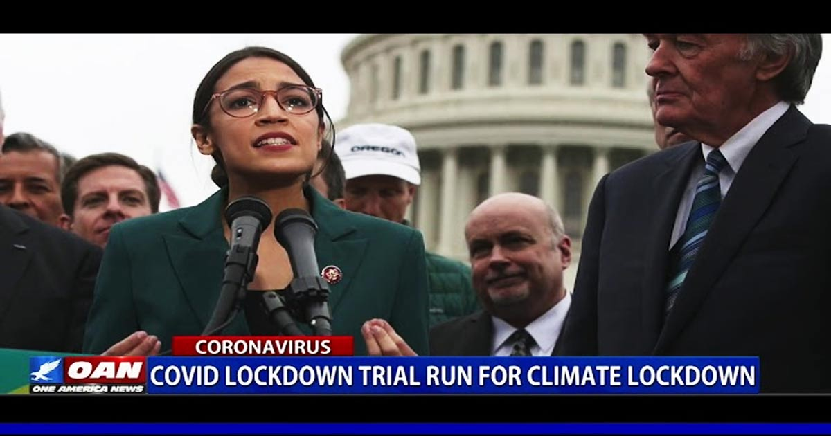 Watch: Morano on One America News TV: COVID Lockdowns Are A Trial Run For Climate Lockdowns