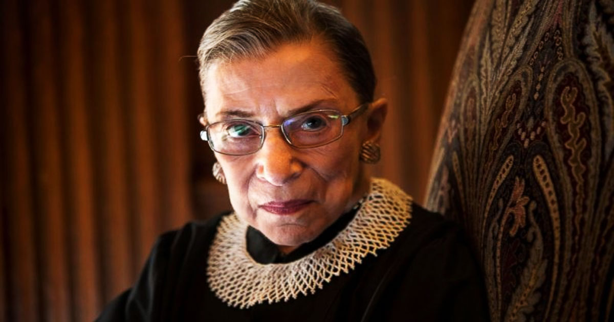 Infanticide Advocate Ruth Bader Ginsburg Dies After Decades Of Promoting Abortions And Medical Violence Against Children