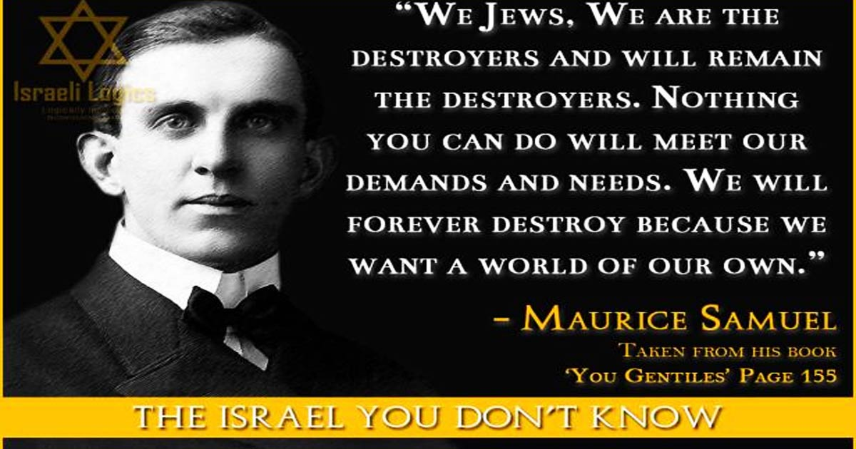"Lockdowns Motivated by Occult Doctrine: ""Creative Destruction"" (Kabbalah)"
