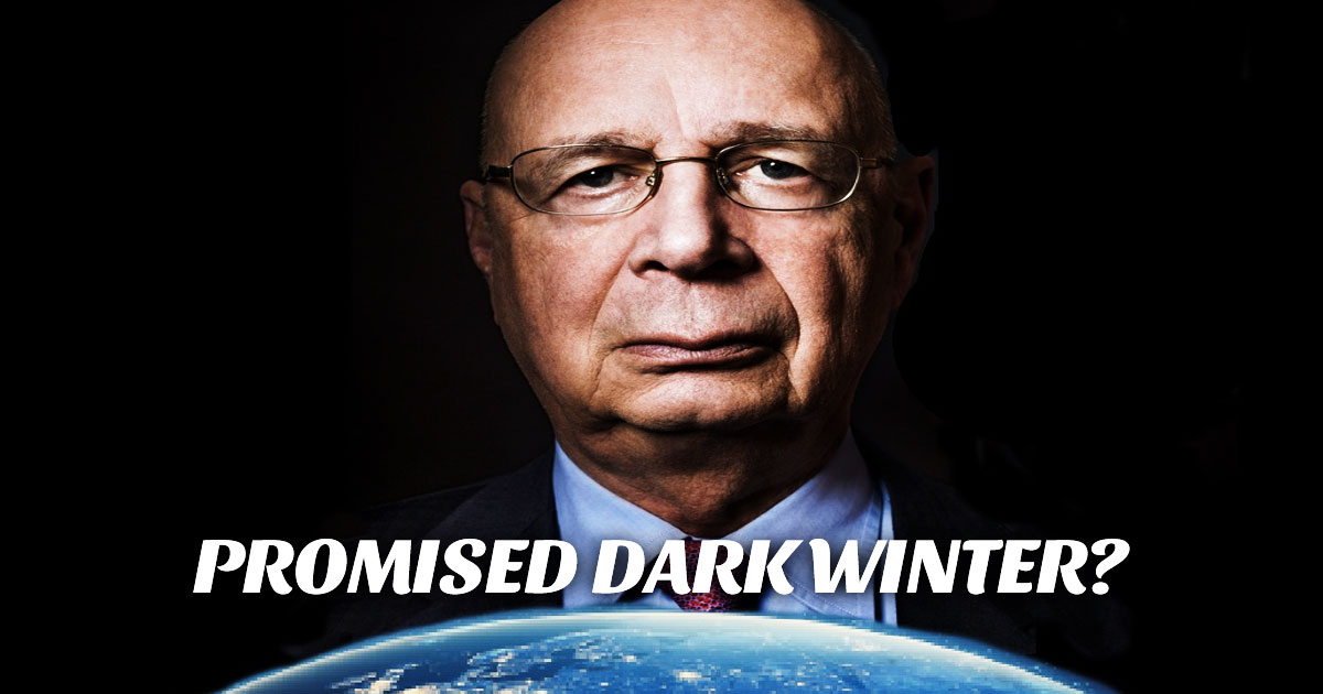 Klaus Schwab's Cyber Pandemic and 40 days of Darkness in the Bible