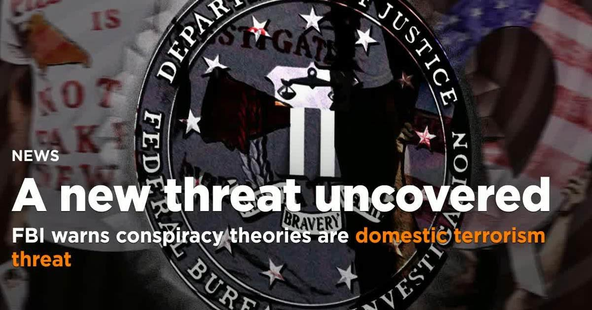How Conspiracy Theorizing May Soon Get You Labelled A 'DOMESTIC TERRORIST'
