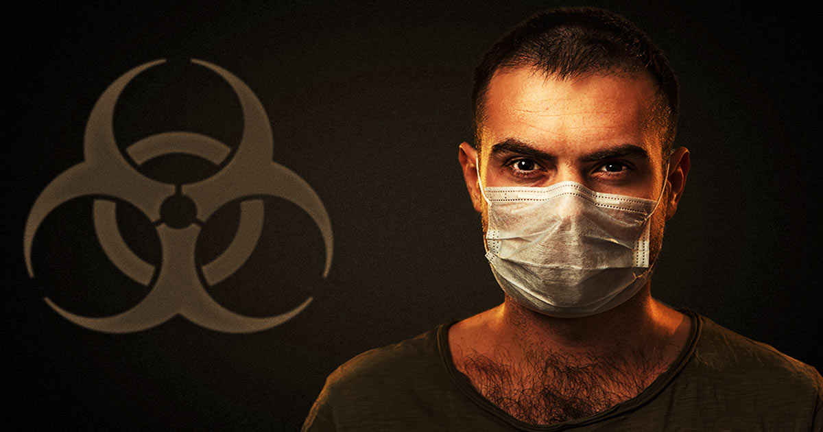 Face masks are laced with cancer-causing toxic chemicals and Nano worms