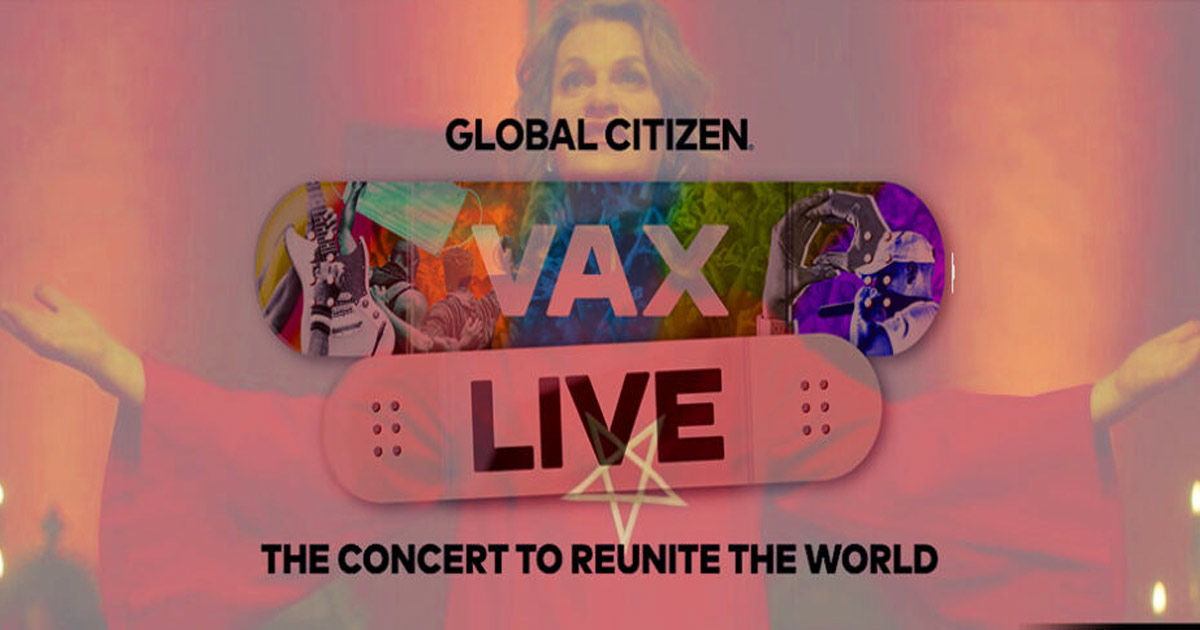 You are currently viewing Global Citizen holds VAX LIVE: The Concert to Reunite and Vaccinate the World as forces of Darkness gather to take control