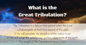 Understanding The Difference Between The Trials And Tribulations (PERSECUTION) Of Now, And The Coming Tribulation (THE TIME OF JACOB'S TROUBLE)!