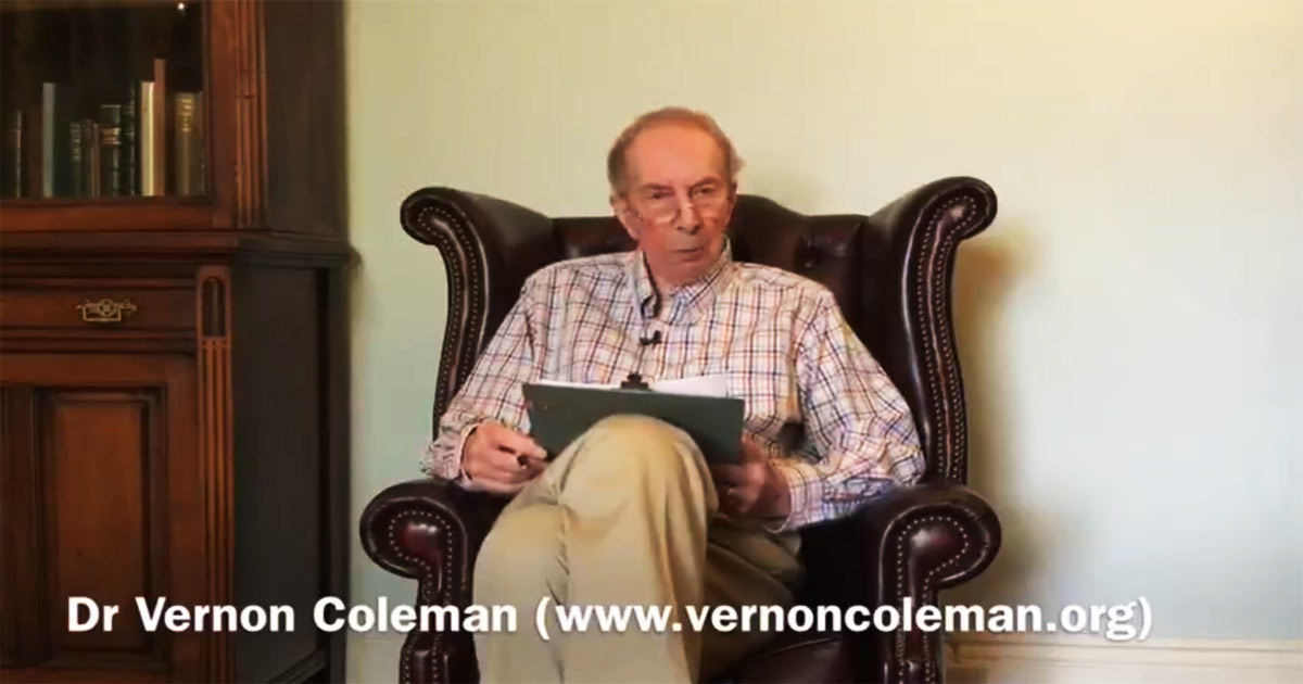 You are currently viewing Dr. Vernon Coleman: How the Vaccines are killing people and how they plan to kill 7 billion