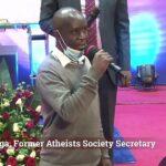 Secretary For Kenya's Atheist Society Announces He's 'Found Jesus Christ', Resigns