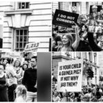 Hundreds of Thousands Take to the Streets in London to Protest And Fight for Their Children