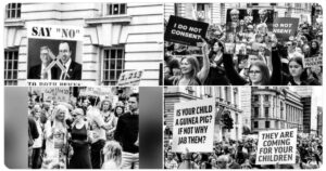 Read more about the article Hundreds of Thousands Take to the Streets in London to Protest And Fight for Their Children