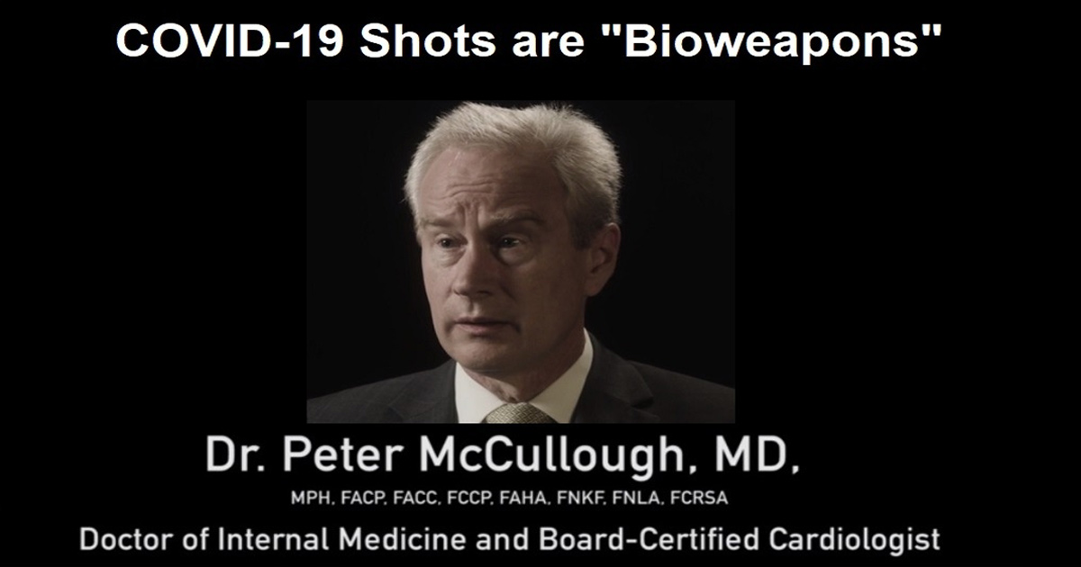 """Renowned Texas Professor and Doctor: COVID-19 Shots are """"Bioweapons thrust upon the Public!"""""""