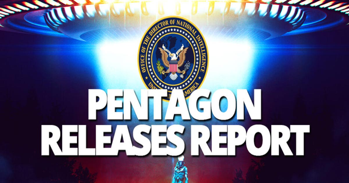 You are currently viewing Pentagon reports on 144 sightings of Unknown Flying Objects says there is no Earthly explanation
