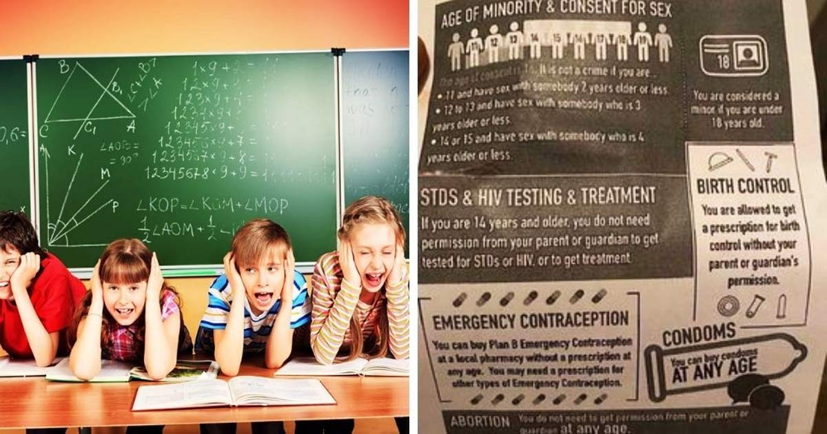 You are currently viewing Planned Parenthood sex-ed flyer telling 11-year-olds they could have sex, as long as the partner isn't older than 13, distributed in WA public school