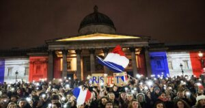 French protesters show up in force to defy COVID vaccination mandates