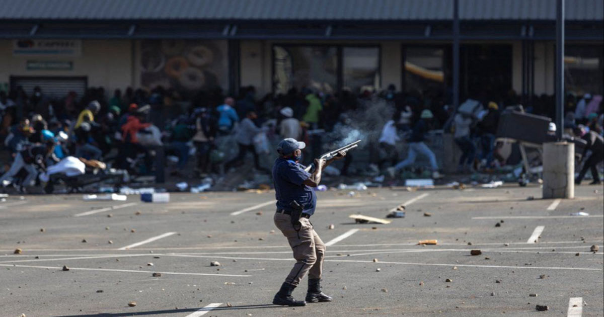 You are currently viewing SOUTH AFRICA RIOTS: A Destabilization Agenda for Global Control