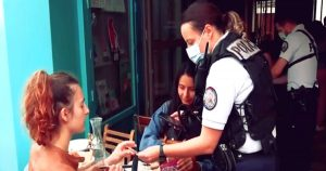 Read more about the article Vaccine Police Begin Patrolling The Streets Of Paris Slapping Fine As High As 9000 Euros