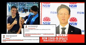 Read more about the article Jabbed Australian Official Develops Bell's Palsy in Middle of CV Press Conference