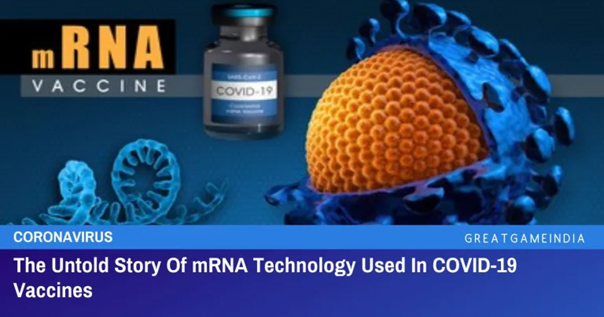 You are currently viewing The Untold Story Of mRNA Technology Used In COVID-19 Vaccines