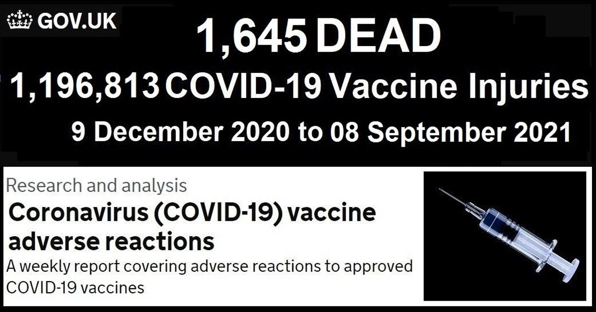 You are currently viewing Fully Vaccinated Account for 74% of Covid-19 Deaths in the UK Summer Wave According to Latest Public Health England Report