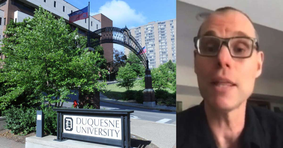You are currently viewing Watch: Catholic University Professor Teaches White People Committing Suicide Can Be an 'Ethical' Act