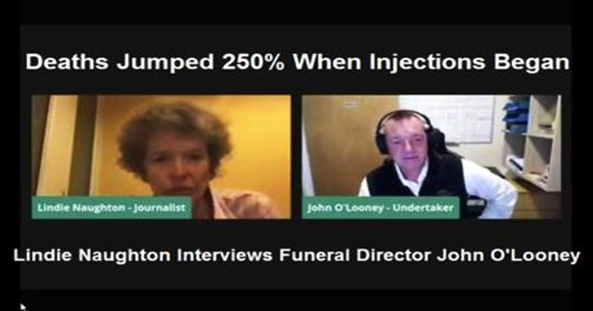 You are currently viewing Funeral Director: COVID Medication, Not The Virus, Triggers 250 Percent Death Rate Spurt