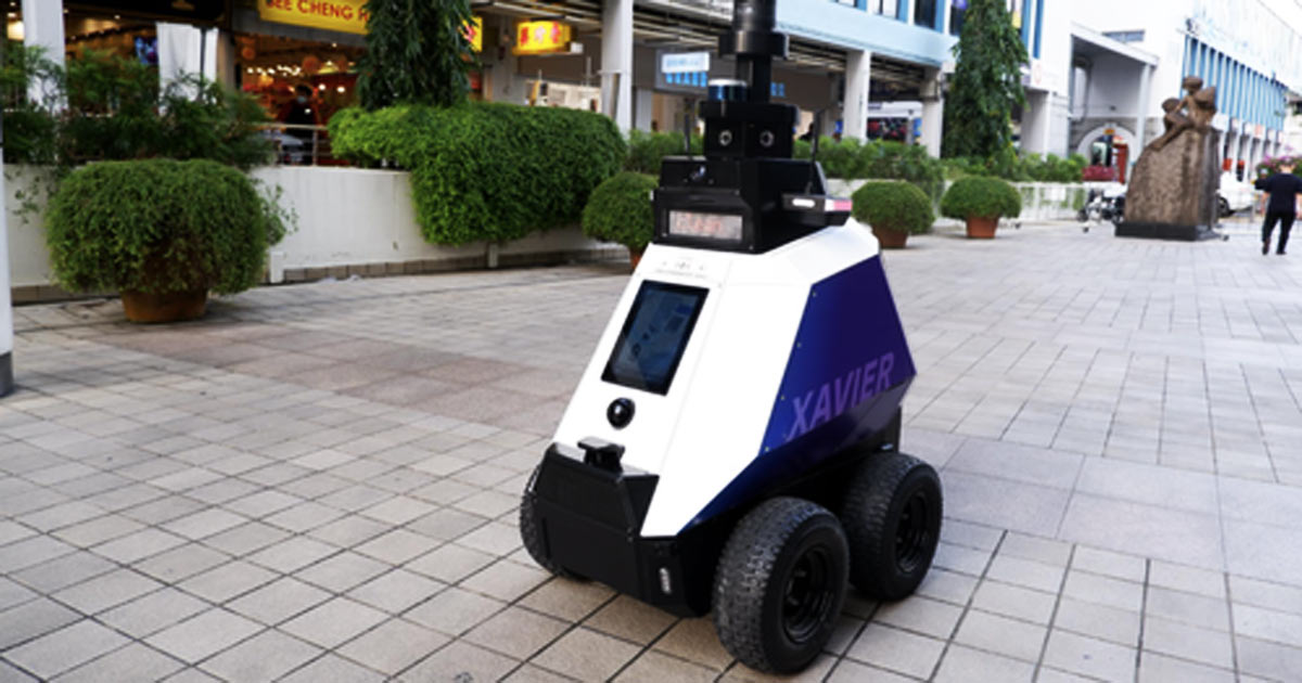 """You are currently viewing Robocop Is Here: Singapore Deploys Robots To Detect """"Undesirable Behavior"""" Including Groups Of """"More Than Five People"""""""
