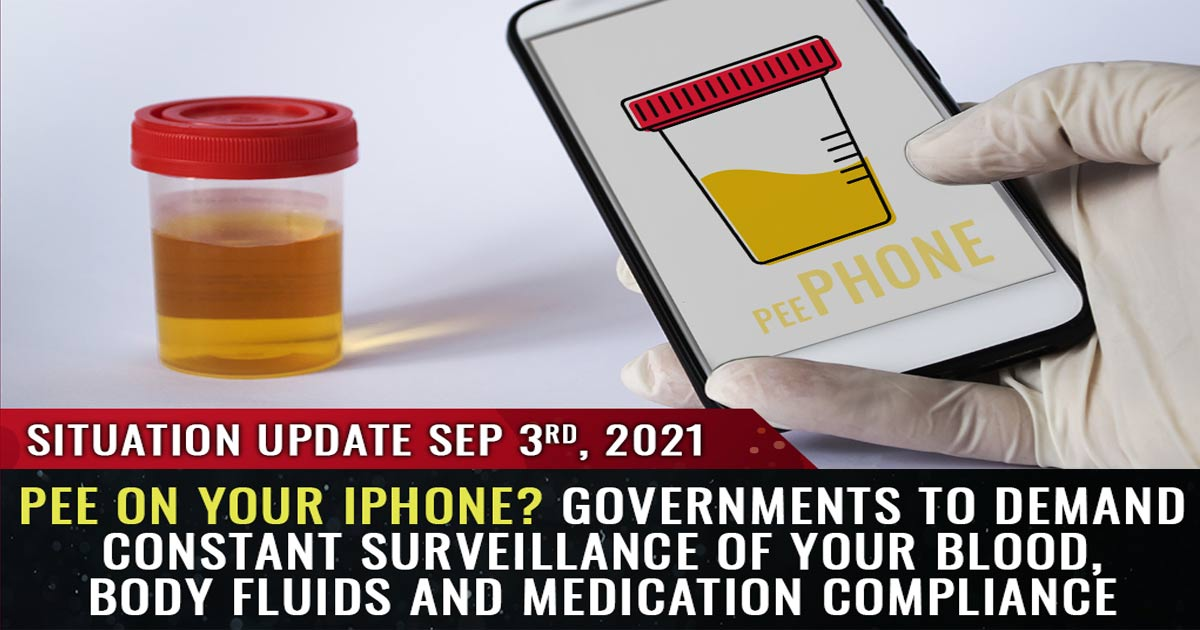 You are currently viewing Governments to demand constant surveillance of your blood, body fluids and medication compliance