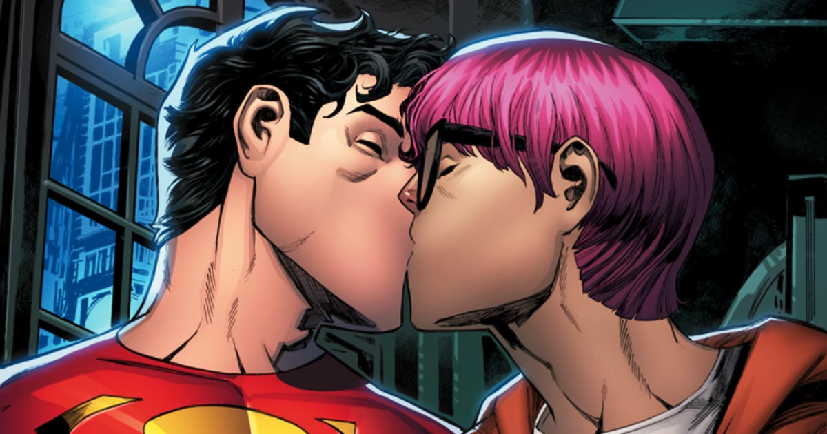 """You are currently viewing New """"Man of Steel"""" comes out! DC Comics unveils new """"Gay Superman"""""""
