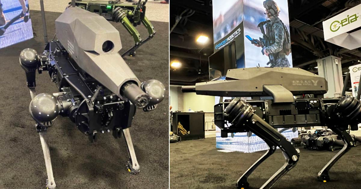 You are currently viewing A Philadelphia based Robotics firm equips 'Robo Dog' with night-vision SNIPER RIFLE, U.S Army readily adopts it